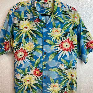 Avanti authentic Hawaiian silk dress shirt